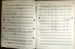 [Vocal Score] Maria Sabina. Tragifonia. Partitura Coral. Dividida en 1 Pregon y 5 Melopeas, coro ...