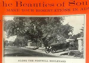 Vintage California Sightseeing Brochure] Allison Auto Tours : Leisurely Seeing the Beauties of ...