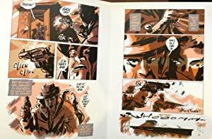 A Glimpse of Crime and Terror - Signed Limited Edition: Steve Niles; Scott Morse