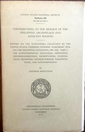 CONTRIBUTIONS To The BIOLOGY Of The PHILIPPINE ARCHIPELAGO And ADJACENT REGIONS. REPORT On The ...