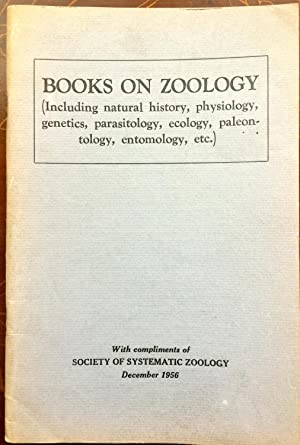 Books on Zoology (Including natural history, physiology,: Ross H. Arnett,