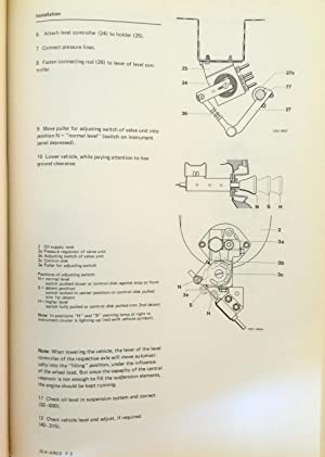Mercedes Benz Service; Service Manual chassis and Body series 116, 1984; 2 book set (Series 116, ...