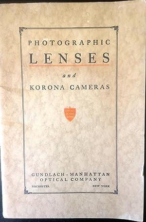 Photographic Lenses Korona Cameras Prism Binoculars and: Gundlach - Manhattan