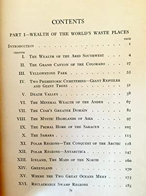 Wealth Of The World's Waste Places And Oceania: Jewett C. Wilson