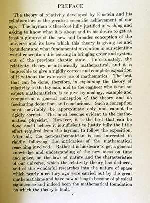 Four Lectures on Relativity and Space: Charles Proteus Steinmetz