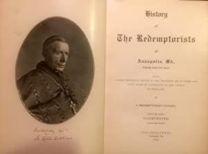 History of the Redemptorists at Annapolis, MD., from 1853 to 1903: A Redemptorist Father