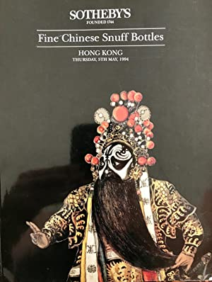 Fine Chinese Snuff Bottles 5th May, 1994: Sotheby's