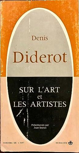 Sur LArt et Les Artistes: Diderot, Denis
