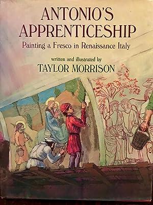 9a4398b730 Antonio's Apprenticeship: Painting a Fresco in Renaissance: Morrison, Taylor