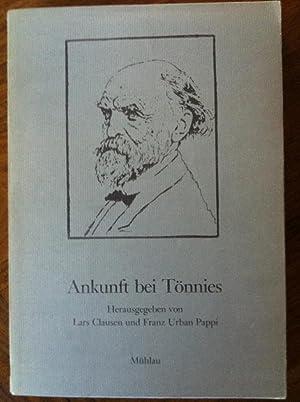 Ankunft bei Tonnies: Soziologische Beitrage zum 125. Geburtstag von Ferdinand Tonnies (German ...
