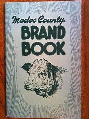 Modoc County Brand Book: Walter T Rodman