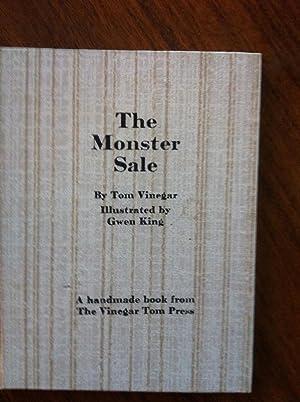 The Monster Sale: Tom Vinegar; Illustrator-Gwen King