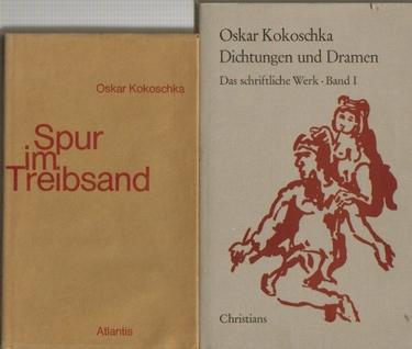 2 Titel / 1. Dichtungen und Dramen: Kokoschka, Oskar: