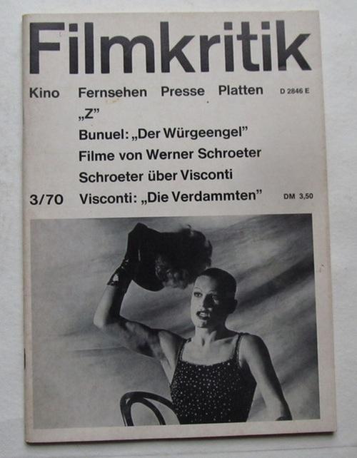 werner schroeter: Magazine & Zeitschriften - ZVAB