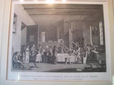 Interieur d`un Comite Revolutionnaire sous le Regime: Fragonard, Jean-Honore (1732-1806)