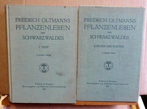 Pflanzenleben des Schwarzwaldes: Band 1. Text +: Oltmanns, Friedrich