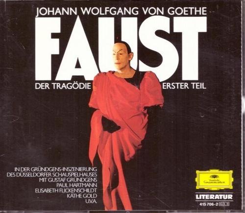 3 CD. Johann Wolfgang von Goethe. FAUST: Goethe, Johann Wolfgang