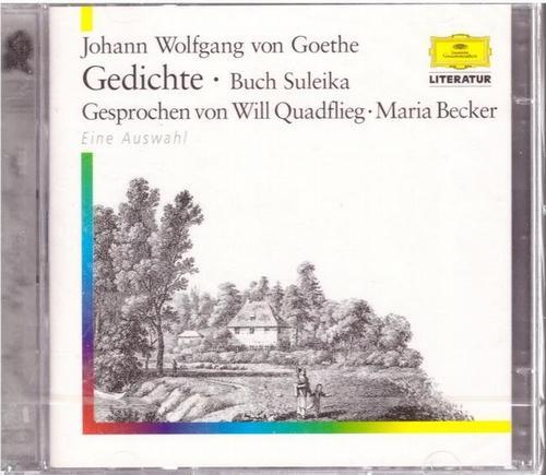 2 CD - Gedichte - Buch Suleika: Goethe, Johann Wolfgang
