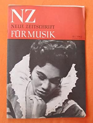 NZ / Neue Zeitschrift für Musik Nr.: Hartmann, Karl Amadeus;