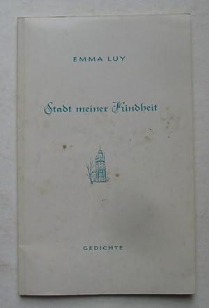 Stadt meiner Kindheit. Gedichte (Erinnerungen an die Residenzstadt Karlsruhe für große und kleine ...