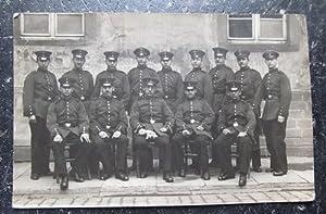 """Ansichtskarte Gostyn """"1. Rekrutenregiment, 1. Korporalschaft, Infanterie-Regiment"""