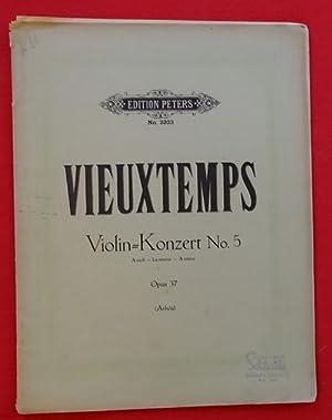 Violin-Konzert No. 5, Opus 37 (A-moll -: Vieuxtemps, Henri: