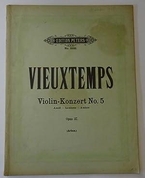 Violin-Konzert No. 5, Opus 37 / 5me: Vieuxtemps, Henri: