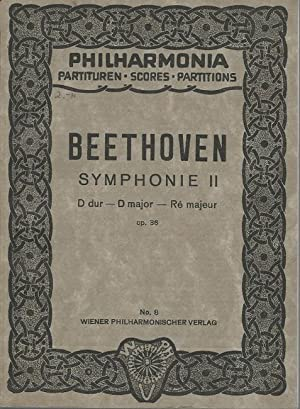 Symphonie II (D dur - D major: Beethoven, Ludwig van: