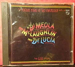 Friday Night in San Francisco (CD): Di Meola, Al;
