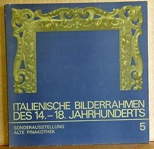Italienische Bilderrahmen des 14.-18. Jahrhunderts (Sonderausstellung Alte: Bilderrahmen - Cremer,