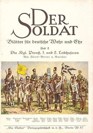 DER SOLDAT Heft 2 - Die Kgl.: von Koerber, Adolf