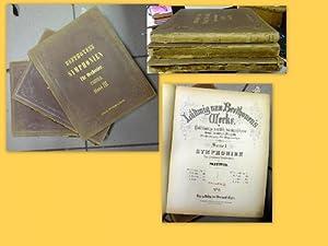 Ludwig van Beethoven's Werke Band 1-3 Vollständige,: Beethoven, Ludwig van: