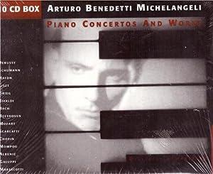 10 CD. Piano Concertos and Works /: Michelangeli, Arturo Benedetti:
