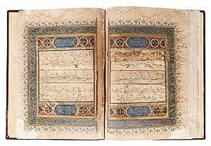 A QUR'AN SECTION: Quran Manuscript