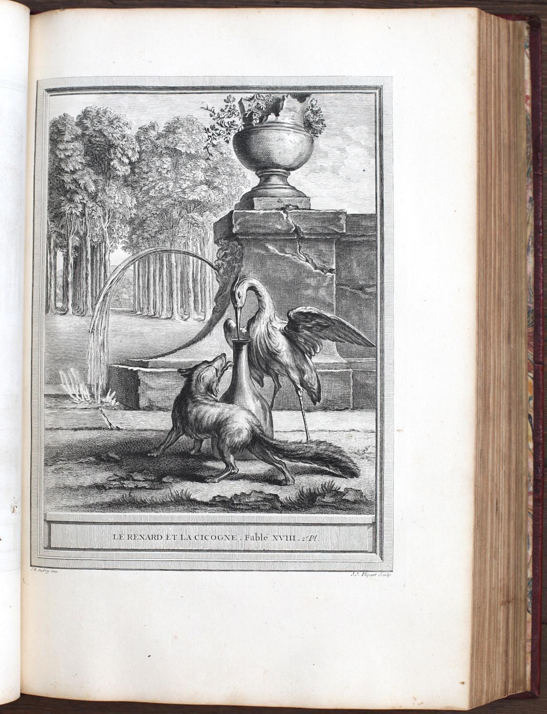 Fables choisies, mises en vers par J. de La Fontaine. [Édité par ...