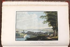 Voyage pittoresque aux lacs de Zurich, Zoug,: WETZEL, Johann Jakob