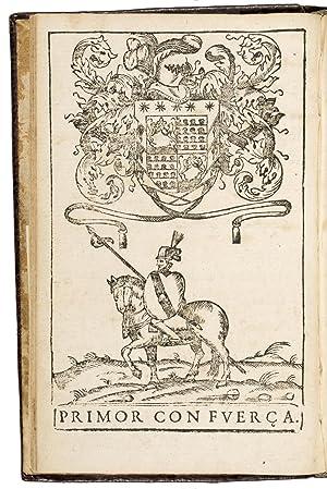 Libro de exercicios de la gineta, compuesto: VARGAS MACHUCA, Bernardo
