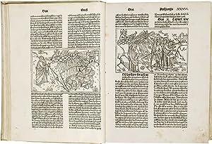 BIBLIA GERMANICA - KOBERGER BIBEL. -