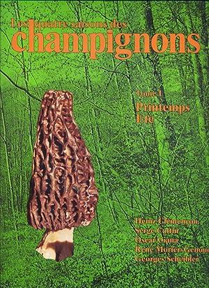 Les Quatre Saisons des Champignons. Tome 1 Printemps Ete. Tome 2. Automne hiver.: Clemencon Heinz; ...