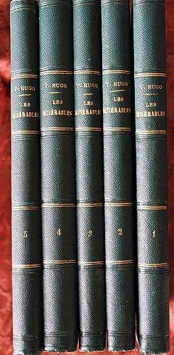 Les Misérables (Complet en 5 volumes): Hugo Victor
