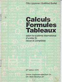 Calculs Formules Tabeaux