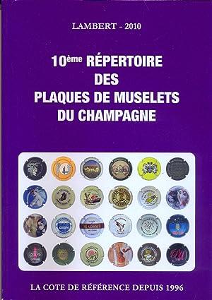 10ème repertoire des plaques de muselets du Champagne: Lambert Roland