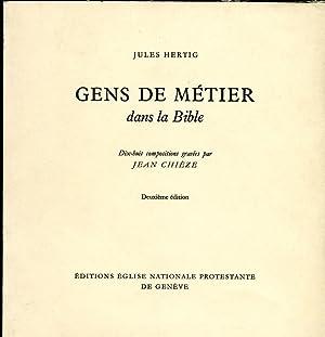 Gens de métier dans la Bible: Hertig Jules
