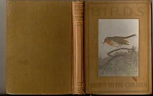 BIRDS SHOWN TO THE CHILDREN: M K C Scott & J. A. Henderson