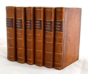A New and Accurate System of Natural History. 6 Volumes Complete: RICHARD BROOKES MD