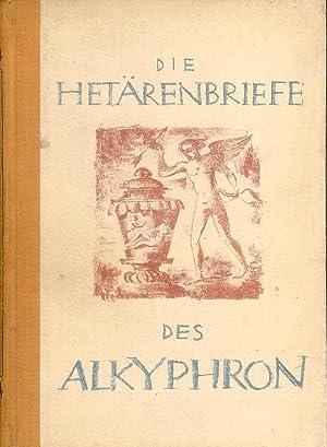 Die Hetärenbriefe des Alkiphron.: Alkiphron