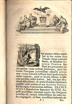 In funere Francisci I. Romanorum Imperatoris, Germaniae: Dietmann, Johann Maximilian