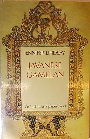 Javanese Gamelan.: Lindsay, Jennifer
