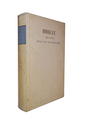 Briefe. 1900-1909.