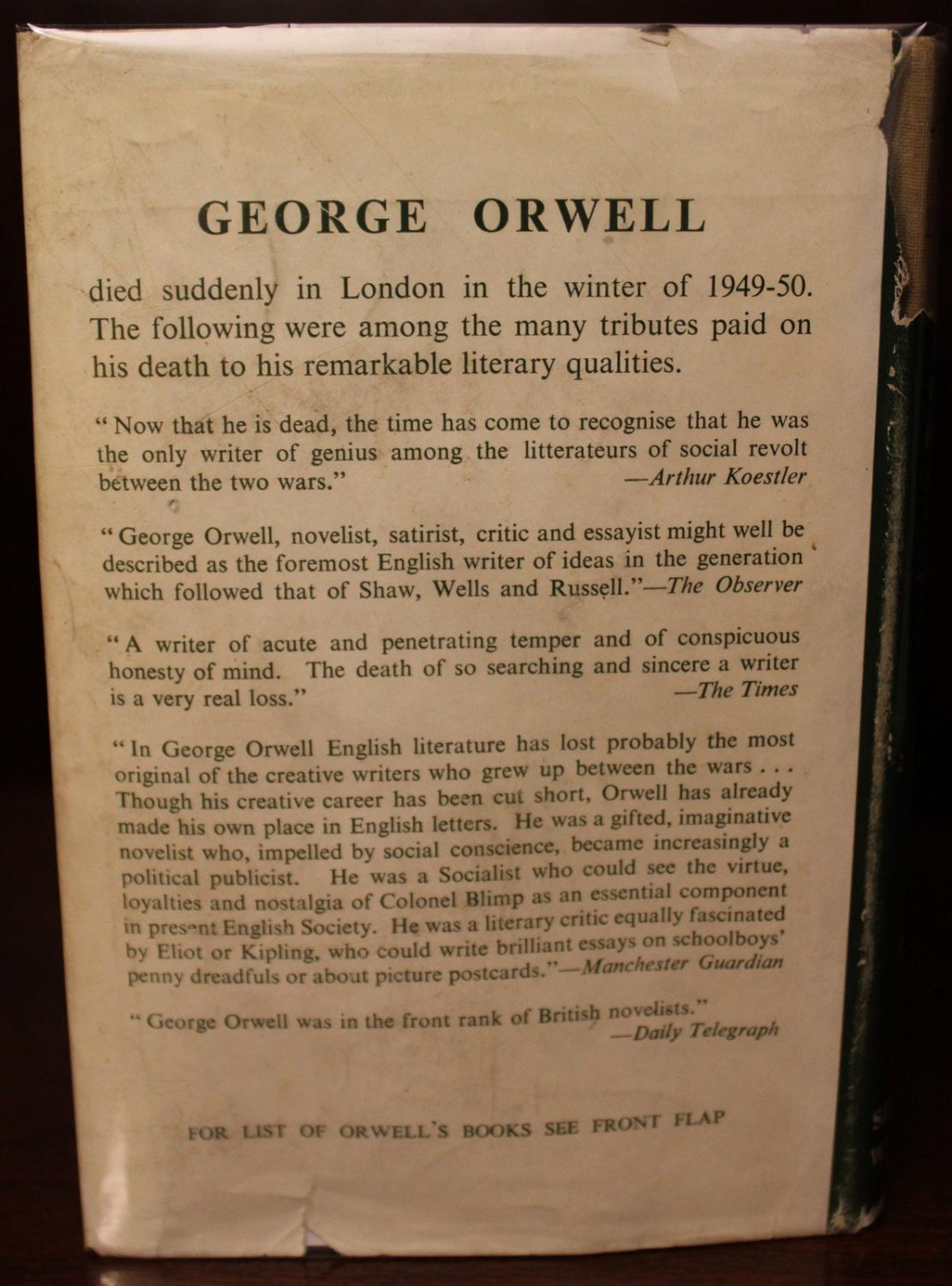 """a report on nineteen eighty four by george orwell """" nineteen eighty four"""" was written by george orwell, who is english political author, novelist, essayist, critic."""